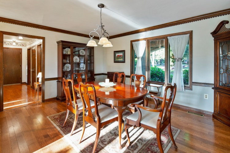 The Formal Dining Room at 1060 Mullica Hill Road