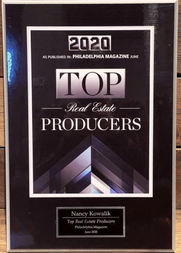 Top Real Estate Producer Award