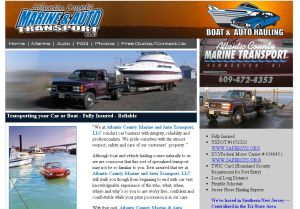 Atlantic County Marine and Auto Transport