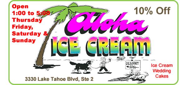 Aloha Icecream Open TFSS 1 to 5 Wedding Cakes