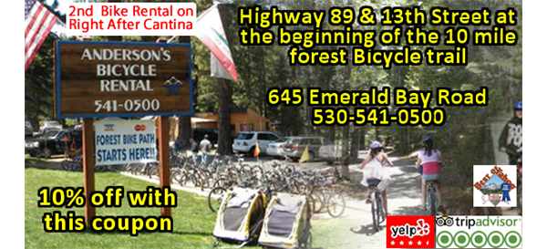 Andersons Bicycle Rental