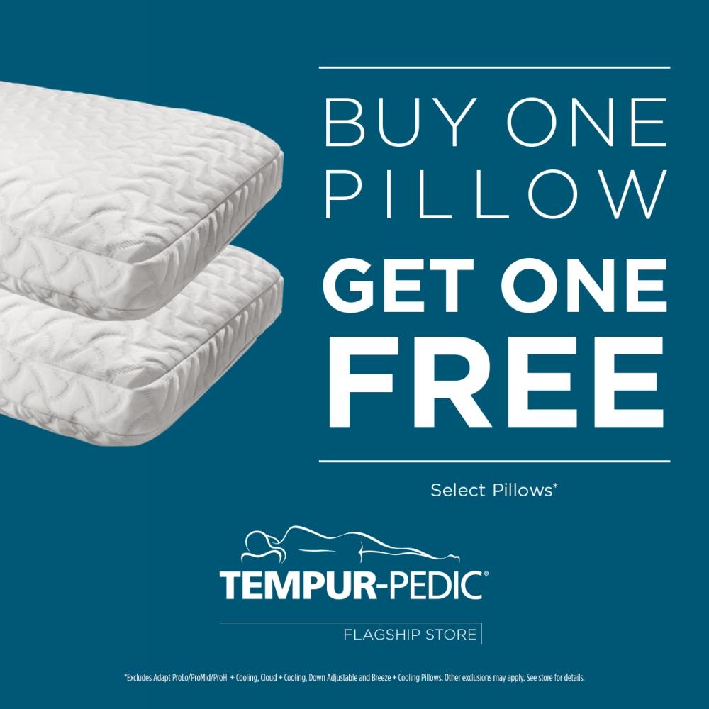 bogo pillows at tempur pedic