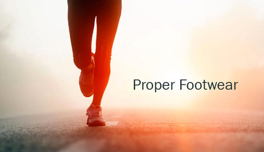 Proper Shoewear