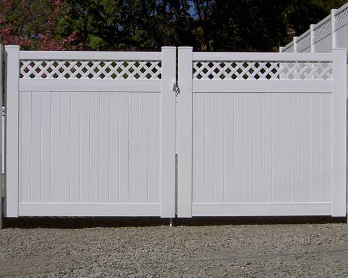 Fence Lattice And Arbor