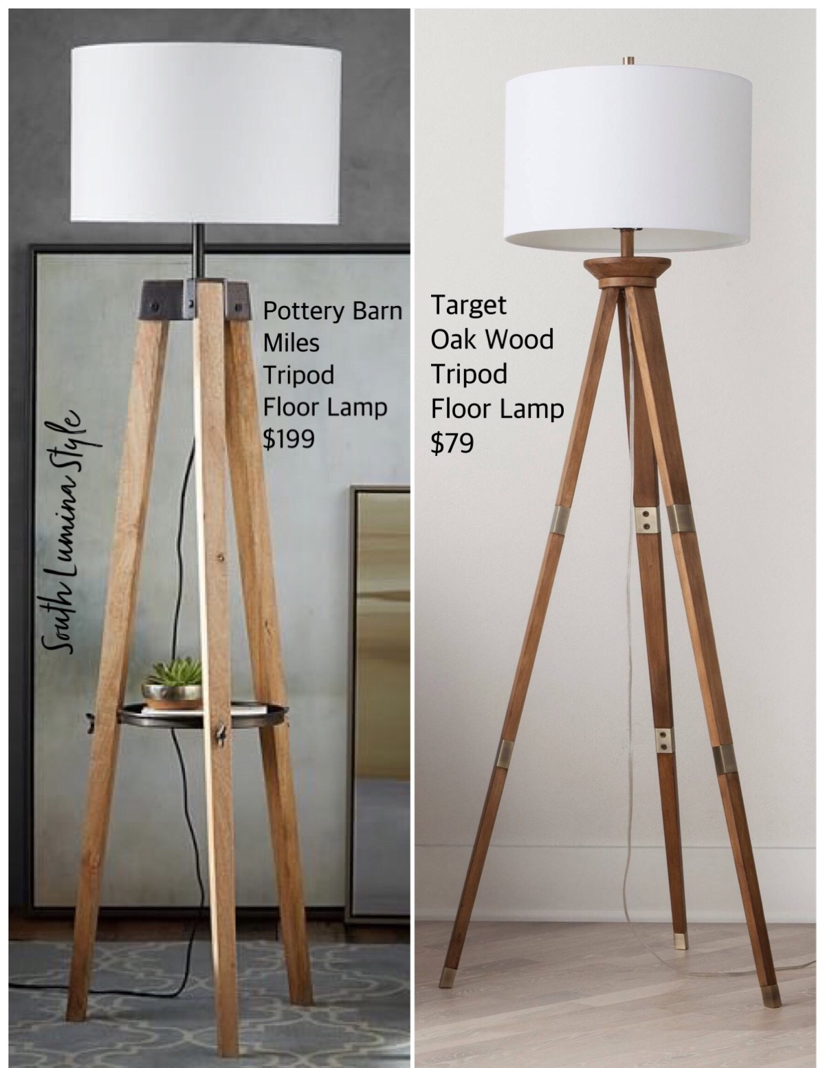 Tripod Floor Lamps South Lumina Style