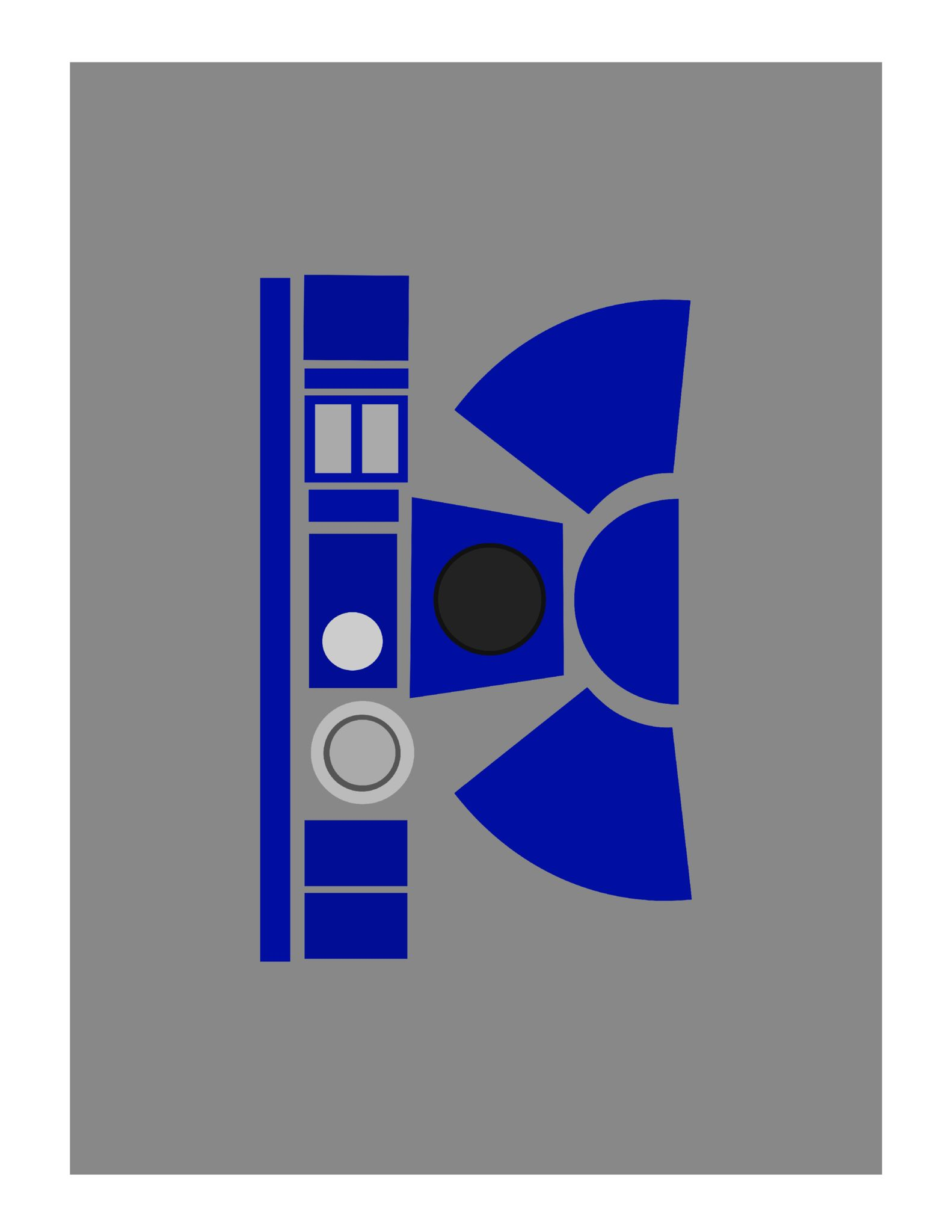 image regarding R2d2 Printable identified as R2D2 Valentine Box Printable - South Lumina Structure