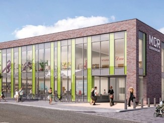 The new Arcadia Library and Leisure Centre in Levenshulme