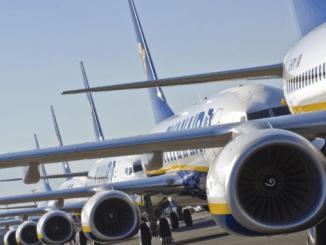 Ryan Air 2016 schedule