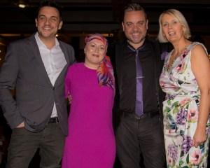 Mike Toolan, Kirsty Cooke, Lee Boardman and Angela Gray