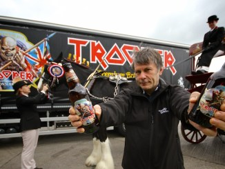 Bruce Dickinson launches the original Trooper