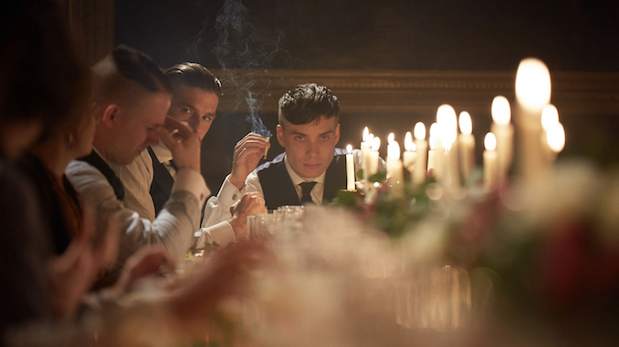 Tommy Shelby at home (BBC)