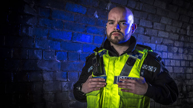 PC Karl Dickin from Cheshire Police is in 999: What's Your Emergency?