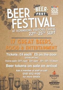 Robinsons Beer Festival 2016