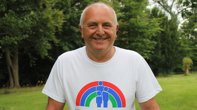 Nigel Bell is tackling the three peaks for Francis House