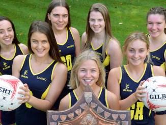 Loreto Grammar School's winning netballers