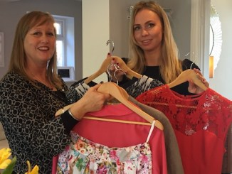 Judith Lacy and Louise Banks have organised a fashion evening for St Ann's Hospice