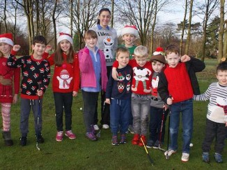 Altrincham Golf Club's juniors