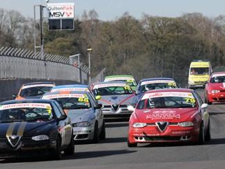 BRSCC Alfa Romeos, Oulton Park