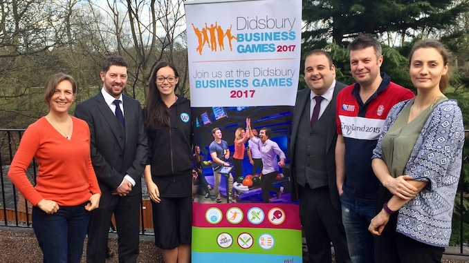 The Didsbury Business Games will support The Christie Charity