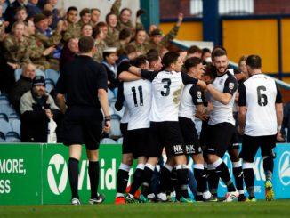 Jason Oswell. Stockport County FC 4-1 FC United, 4.11.17.