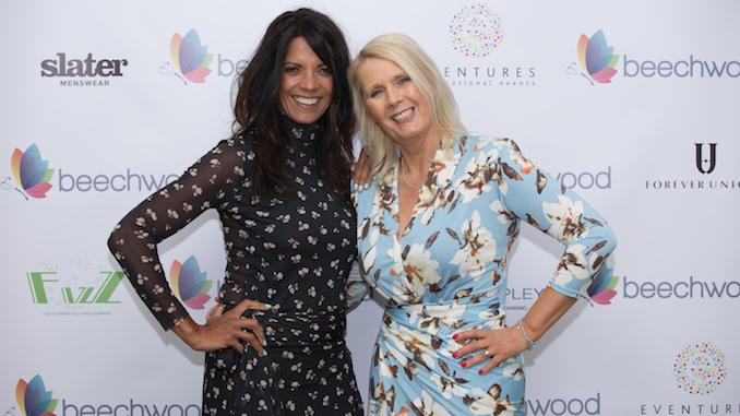 Beechwood's Angela Gray with TV presenter Jenny Powell