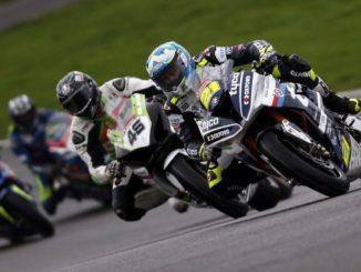 Christian Iddon on his motorbike