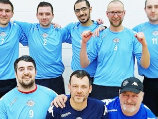 Stockport Volleyball Club's men's team