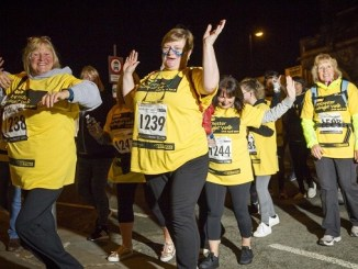 St Ann's Hospice Midnight Walk