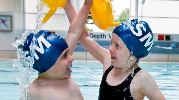 Stockport Metro swimmers