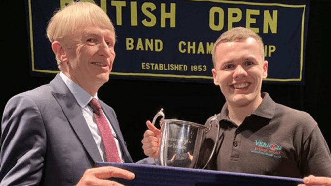 Poynton Brass Band in Blackpool