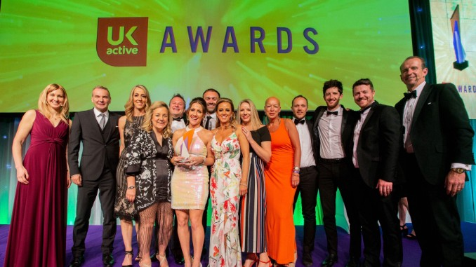 Life Leisure at the UK Active Awards