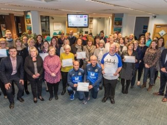 The 2018 Vernon Building Society Community Award winners