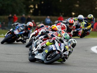 Christian Iddon in the Bennetts British Superbike Championship