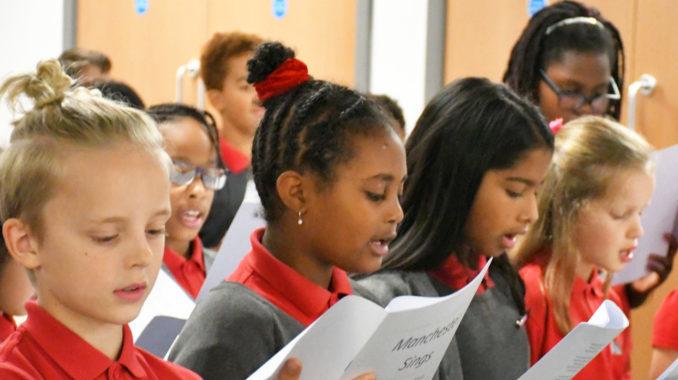 The New Islington Free School choir