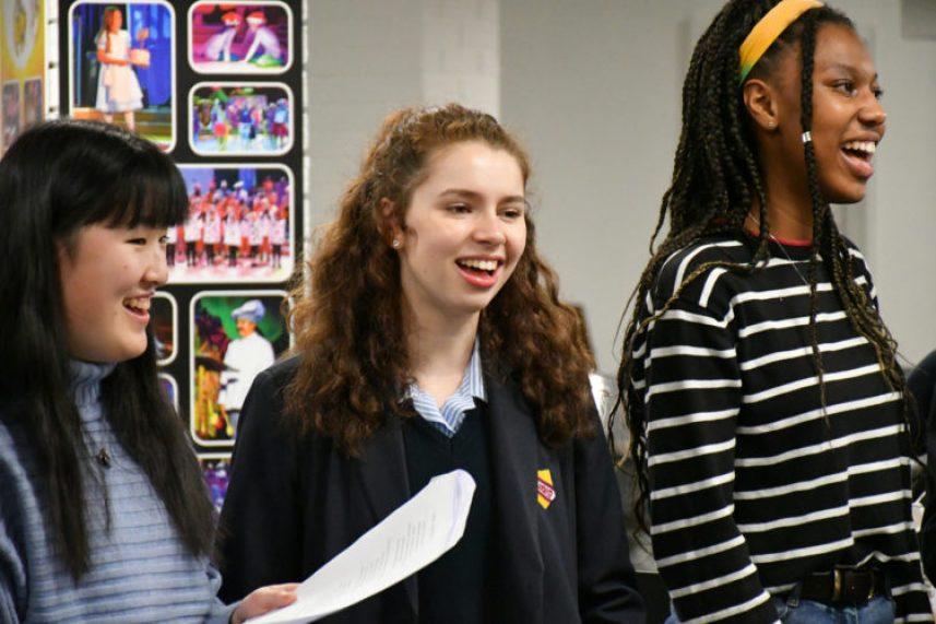 WGS Senior 'Pop Up' Choir