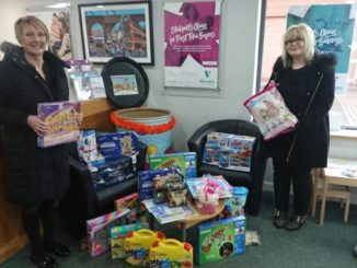 The Vernon Building Society Christmas Toy Appeal