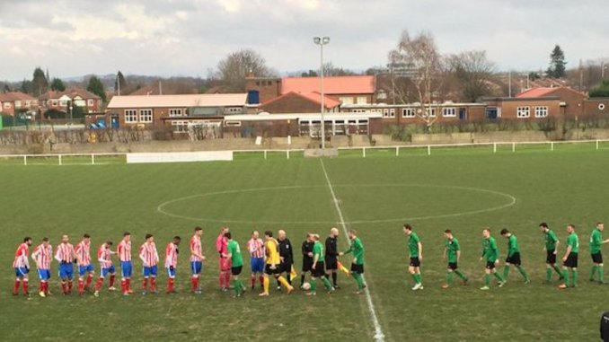 Cheadle Town v Stockport Town