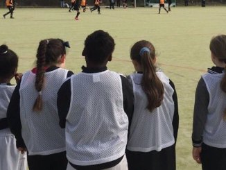 Girls' football is on the increase in South Manchester
