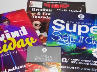 Re-Brand for Bredbury Hall Night Club