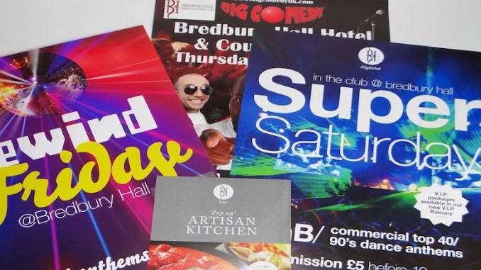 Re-Brand for Bredbury Hall Night Club