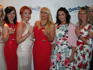 Guests at the Beechwood Butterfly Ball