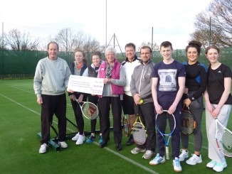 Greave Tennis Club gets funding from David Hopkins Foundation