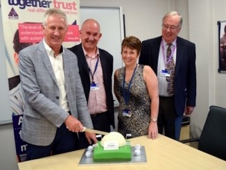 Andrew Murray supporting Together Trust