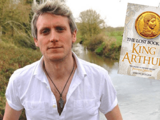 Lost book of King Arthur and author Simon Keegan