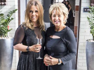 Chelsea Norris and mum Linda at the St Ann's Hospice Ladies' Fashion Lunch