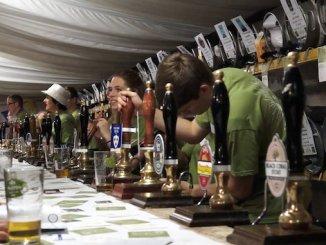Last year's Didsbury Beer Festival