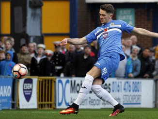 Stockport County v Woking FA Cup