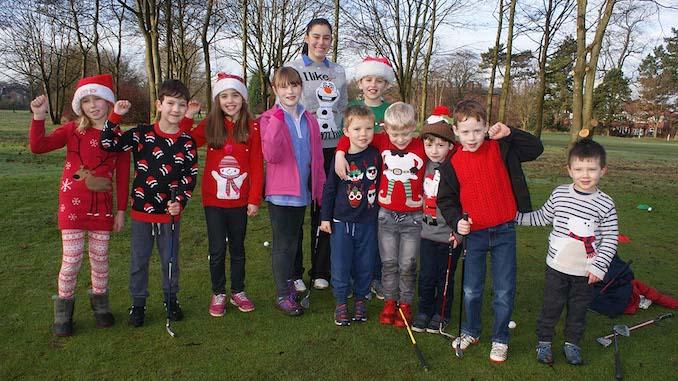 Altrincham Golf Club's juniors