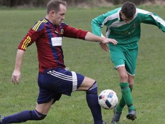 Bedians v Hooley Bridge Celtic (Celtic in green)