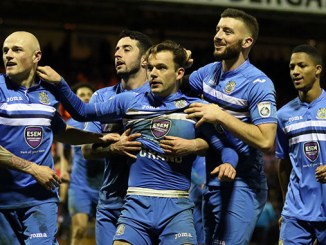 Danny Lloyd's late strike secured a replay for Stockport